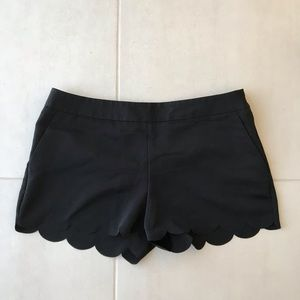 Express Scalloped Shorts SH147